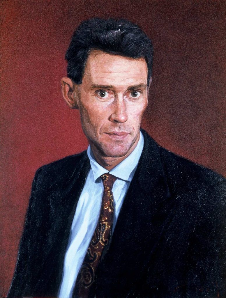 Commission   CEO John R .oil on canvas