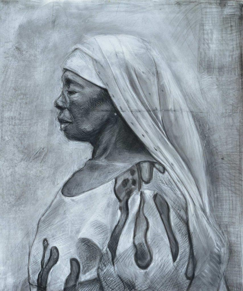 GHANA drawing