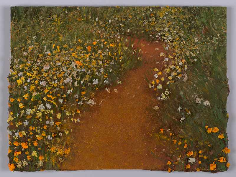 SOLD 9X12 inches natures-path.-Nov-2016-oil-on-board