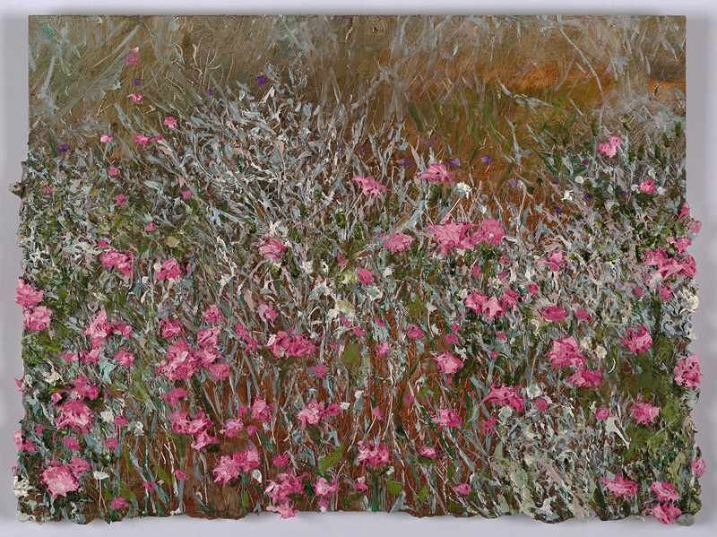 SOLD 9X!12 inches pink-surprise.nov-2016-oil-on-board