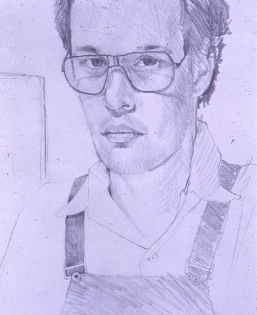 Self portrait.pencil