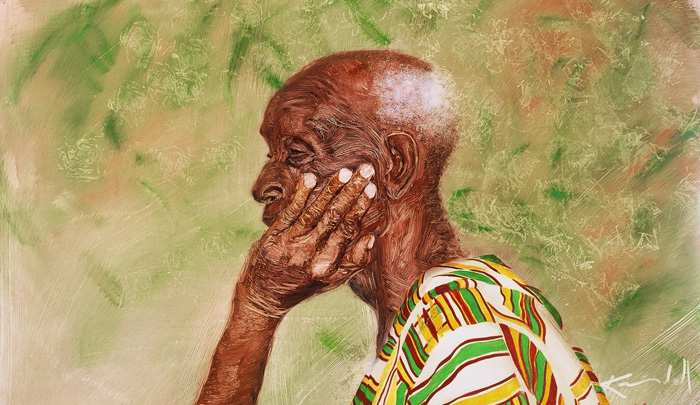 commission Ghana .Elder-of-the-Ewe-tribe.oil-on-board.76-by-100-cm1 (1)