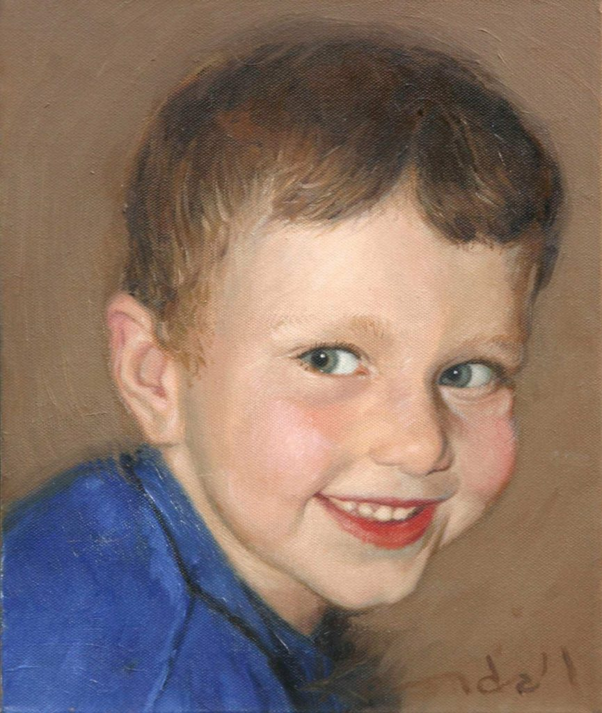 commission Jack.oil on canvas